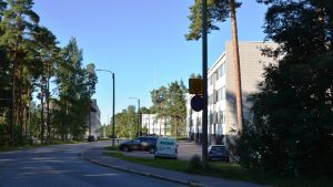 Södra åsen i Lovisa en sommarmorgon.