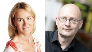 Minna Knus-Galán ja Kjell Lindroos