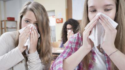 Hostens forsta influensafall ar har