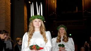 Ingrid Holm, Åbos lucia 2014.
