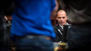 Yanis Varoufakis i bryssel