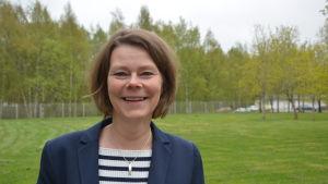 Anita Sundman, koordinator på Arbetsforum vid Åbo Akademi i Vasa.