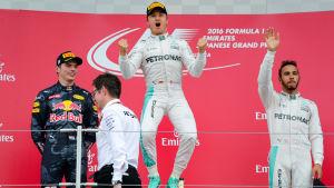 Nico Rosberg är en tysk formel 1-förare.