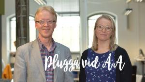 Henrik Saxén och Ella Pirttikangas