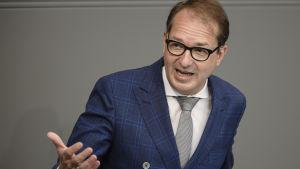 Tysklands trafikminister Alexander Dobrindt