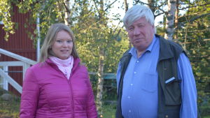 Sonja Bäckman och Berndt Gottberg.
