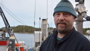 Mikael Brunström, fiskare.