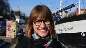 Jenny Gustafsson, verksamhetskoordinator, Håll skärgården ren / Snygg beach