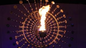 OS-facklan i Rio 2016.