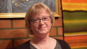 Porträttbild på Birgitta Gran.