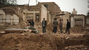 Kina bygger om Kashgars historiska gamla stad och kör bort uigurer