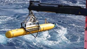 Det försvunna malaysiska flygplanet har sökts med hjälp av miniubåten Bluefin-21 i Indiska oceanen.