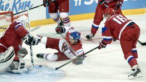 Tjeckien-Ryssland, junior-VM 2016