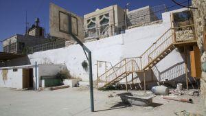 Lågstadieskolan Cordobas skolgård i Hebron