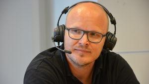 Robert Fredriksson i Sportmåndag 29.6.2015