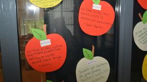 Idéer för hållbar konsumtion har fötts under seminariet vid Källhagens skola i Virkby