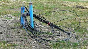 Anslutning till vatten- och avloppsrör och bredband