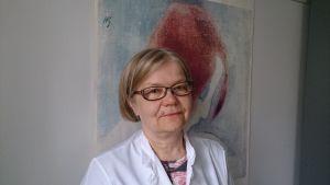 Professor Eija Kalso, överläkare på smärtkliniken vid HUCS