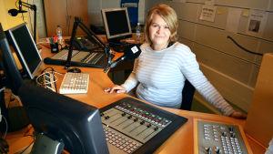 My Tengström i radiostudion