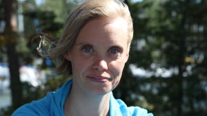 Heidi Lindqvist rannalla, LK