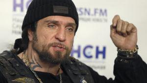 Alexander Zaldostanov är ledare för det ryska MC-gänget Night Wolves.