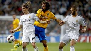 Juventus och Real Madrid möttes i gruppspelet 2013-2014.