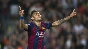 Neymar, Barcelona, våren 2015.