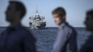 Nato håller militärövningen Baltop på Östersjön 2014.