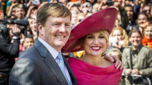 Kung Willem-Alexander och drottning Máxima, av Nederländerna.