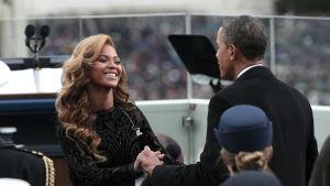Beyoncé och Barack Obama