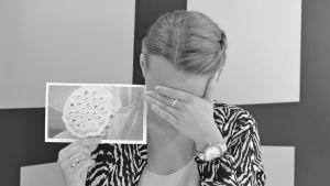 Bild på Lousie och trypofobi