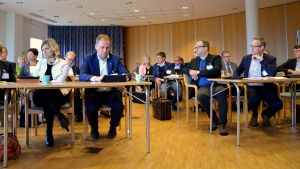 Kommundirektörer från Svenskfinland möttes i Pargas.