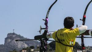 Testtävlingen vid Sambodromo i Rio ägde rum den 15 september 2015.