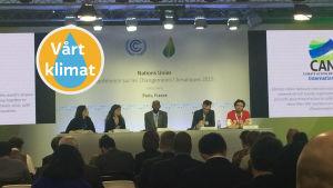 Klimatförhandlingar i Paris