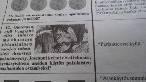 Martti Ahtisaaris svar i Citylehti om vad göra med en ev. flyktingskris vid statskuppen 1991