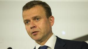 Samlingspartiets ordförande finansminister Petteri Orpo