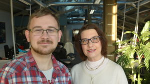 Carl-Gustaf Stenvall och Lea Sistonen