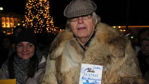 Pauli Kymärainen ville bjuda choklad åt Saara Aalto