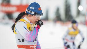 Krista Pärmäkoski, januari 2017.