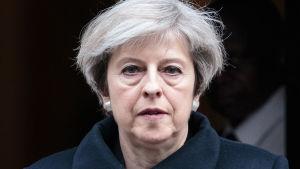 Brittiska premiärministern Theresa May