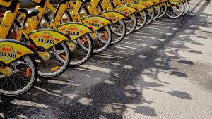 kaupunkipyöräparkki