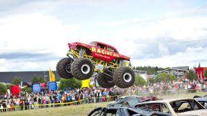 Monsterbil show i alahärmä