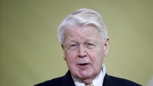 Ólafur Ragnar Grímsson, president på Islan