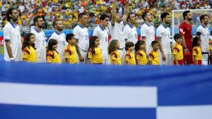 Greklands landslag vid VM i Brasilien