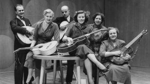 Konsertgrupp ur Visans Vänner i Helsingfors 1953