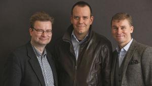 Oula Silvennoinen, Aapo Roselius och Marko Tikka har skrivit boken om de finländska fascisterna.