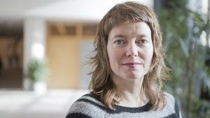 Svenska Europaparlamentarikern Malin Björk