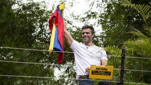 Leopoldo Lopez är oppositionsledare i Venezuela.