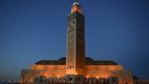 Moskén Hassan II i Casablanca, Marocko.
