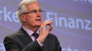 EU:s förre kommissionär och nuvarande Brexitförhandlare, fransmannen Michel Barnier